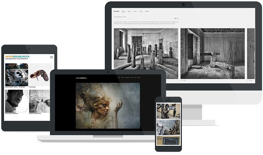 build free website for photographer, architect, artist, designer or for your business